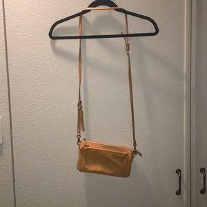 Mustard orange purse